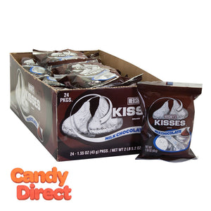 Hershey's Bag Kisses 1.55oz - 24ct