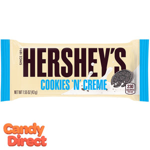 Cookies N Cream Hershey's Bars - 36ct
