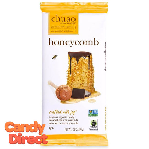 Honeycomb Chuao Dark Chocolate Bar - 12ct