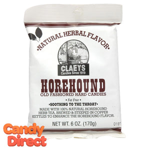 Horehound Claey's Candy Drops - 24ct Bags