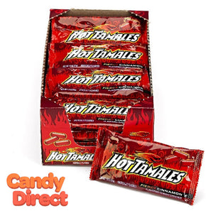 Hot Tamales Cinnamon 1.8oz Pouches - 24ct