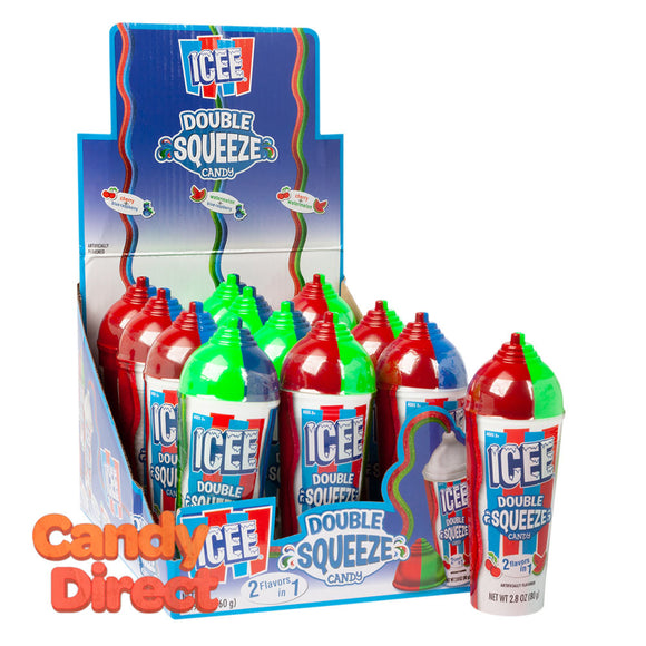 Icee Candy Double Squeeze 2.8oz - 12ct
