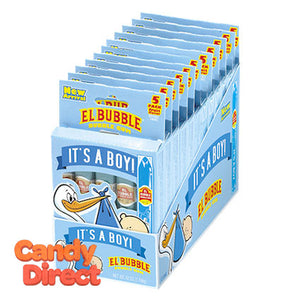 It's a Boy Bubblegum Cigars 5-packs - 12ct