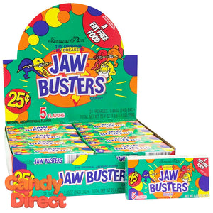Jaw Busters Jawbreakers Candy - 24ct Boxes