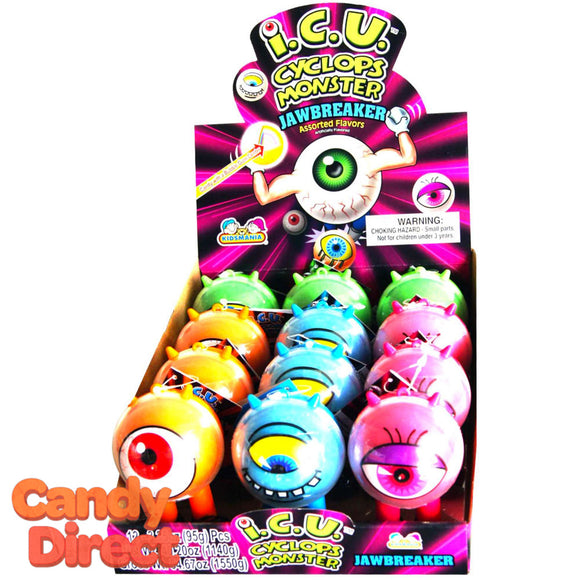 Jawbreaker Cyclops Monsters - 12ct