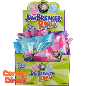 Jawbreaker Rings Candy - 18ct