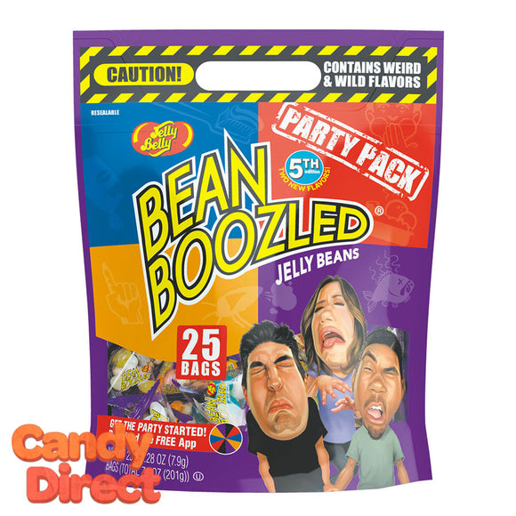 Jelly Belly Beanboozled Pouches - 6ct