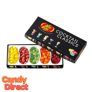 Jelly Belly Cocktail Classics Gift Box 5 Flavors - 12ct