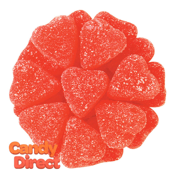 Jelly Hearts Cherry - 5lb