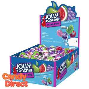 Jolly Rancher Filled Lollipops - 100ct