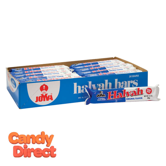 Joyva Halvah Vanilla 3.5oz Bar - 20ct