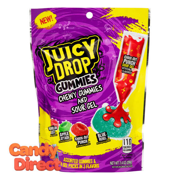 Juicy Gummies Pouch Drop 7.4oz - 12ct