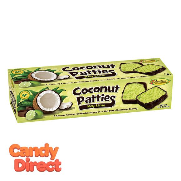 Key Lime Anastasia Coconut Patties 12oz Box - 12ct