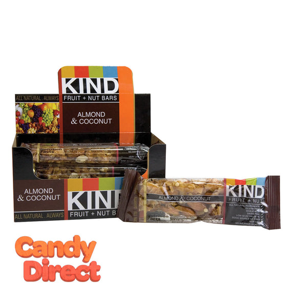 Kind Almond Coconut 1.4oz Bar - 12ct