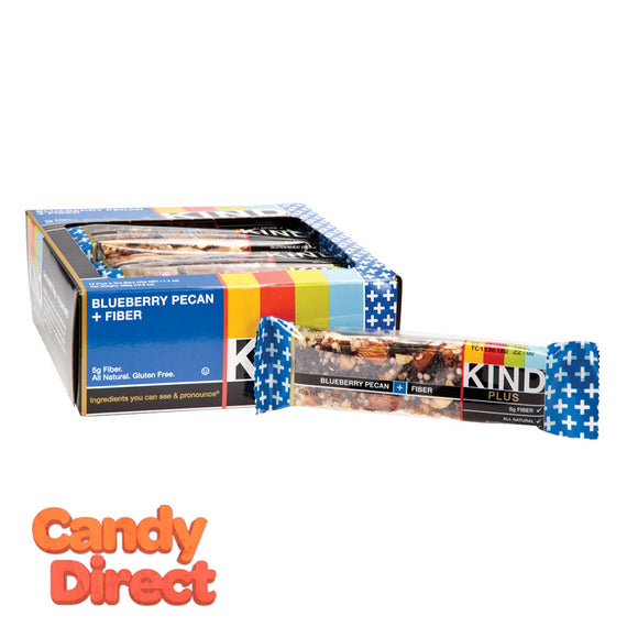 Kind Blueberry Pecan Plus Fiber 1.4oz Bar - 12ct