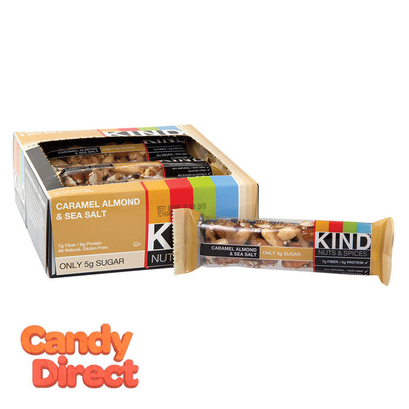 Kind Caramel Almond And Sea Salt 1.4oz Bar - 12ct
