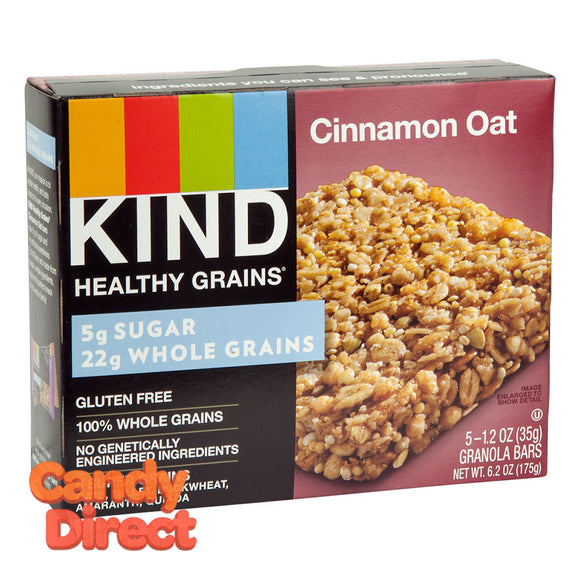 Kind Cinnamon Oat Granola Bar 5-Piece 6.2oz Box - 8ct