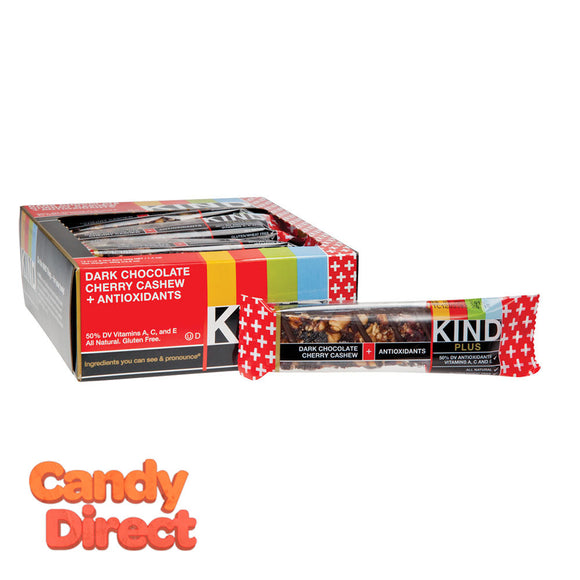 Kind Dark Chocolate Cherry Cashew Plus Antioxidants 1.4oz Bar - 12ct