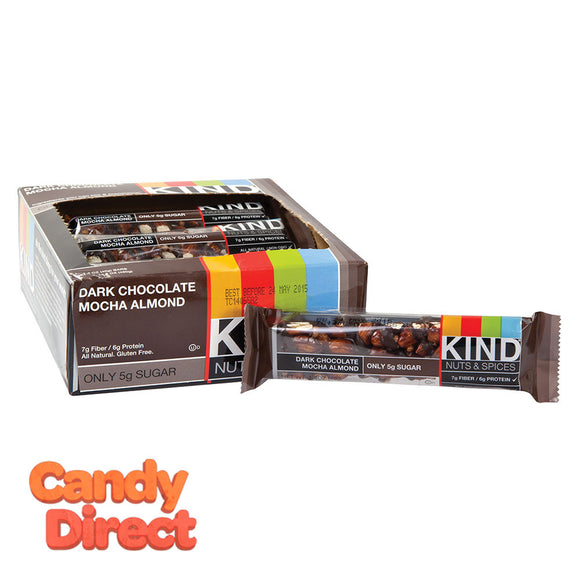 Kind Dark Chocolate Mocha Almond 1.4oz Bar - 12ct