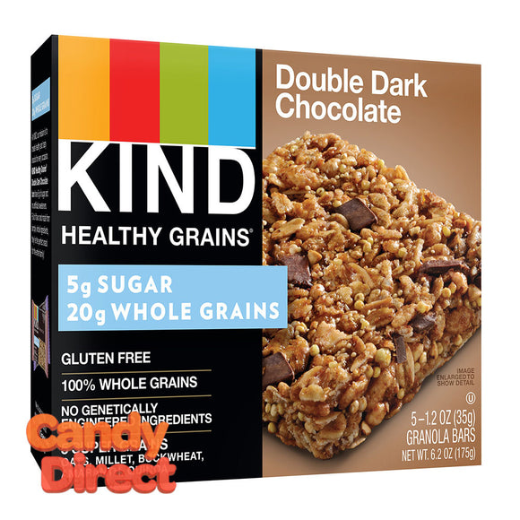 Kind Double Dark Chocolate Granola Bar 5-Piece 6.2oz - 8ct