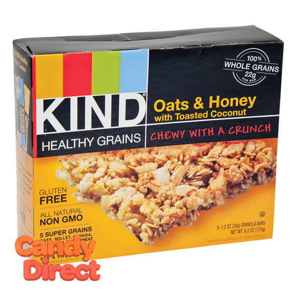 Kind Granola Bar Oats And Honey With Coconut 5Pc 6.2oz - 8ct