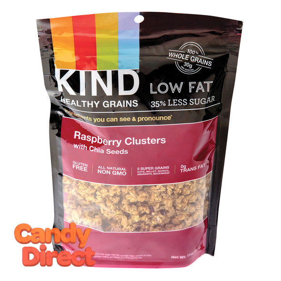 Kind Granola Raspberry Clusters With Chia Seed 11oz Bag - 6ct