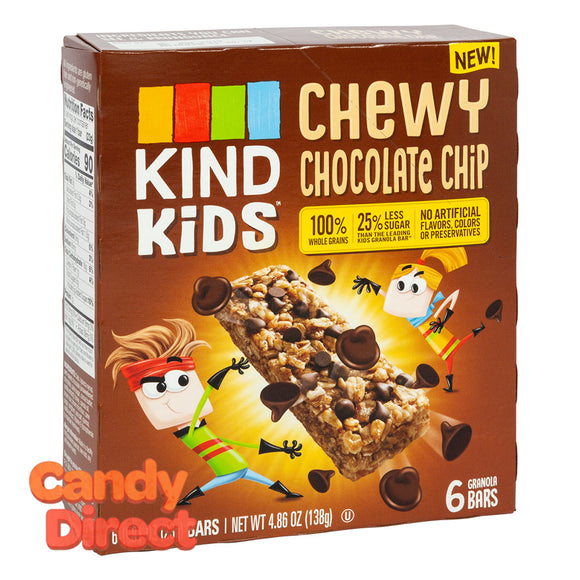 Kind Kids Chewy Chocolate Chip Bar 4.86oz Box - 8ct
