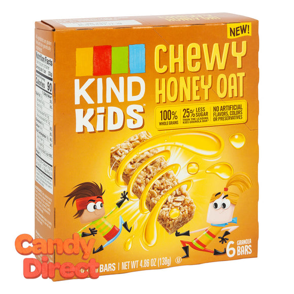 Kind Kids Chewy Honey Oat Bar 4.86oz Box - 8ct