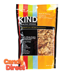 Kind Oats And Honey Granola Clusters 11oz Pouch - 6ct