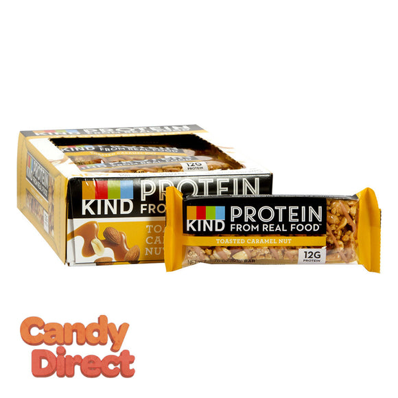 Kind Toasted Caramel Nut Protein 1.76oz Bar - 12ct