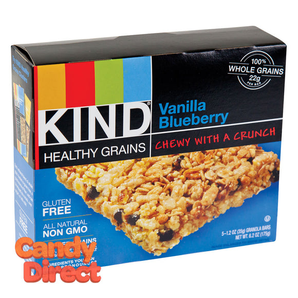 Kind Vanilla Blueberry Granola Bars 5-Piece 6.2oz Box - 8ct