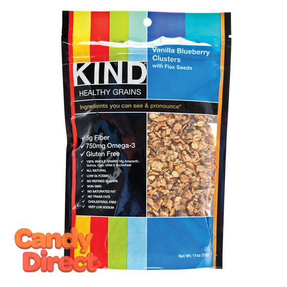 Kind Vanilla Blueberry Granola Clusters 11oz Pouch - 6ct