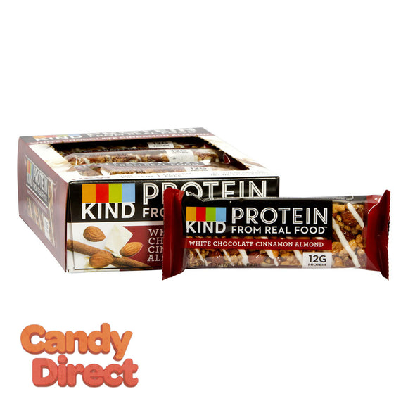 Kind White Chocolate Cinnamon Almond Protein 1.76oz Bar - 12ct