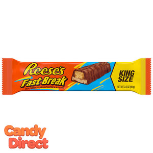 King Size Fast Break Candy Bars - 18ct