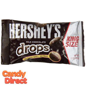 King Size Hershey's Drops Milk Chocolate - 18ct
