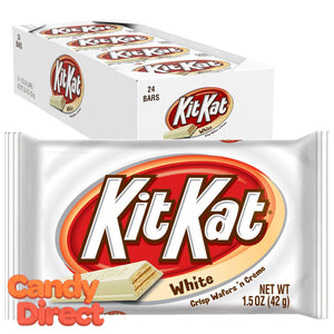 Kit Kat White Chocolate Bars - 24ct