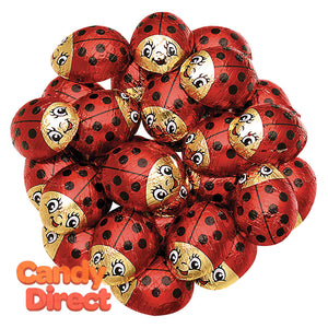 Chocolate Lady Bugs - 60ct