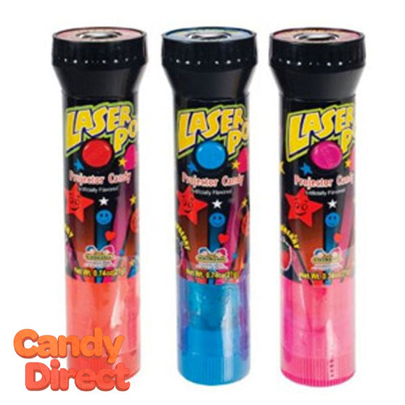 Laser Pop Toy Candy - 12ct