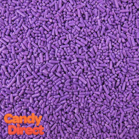 Purple Sprinkles - 6lb Bulk