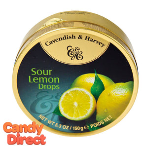 Lemon Cavendish & Harvey Drops - 12ct Tins