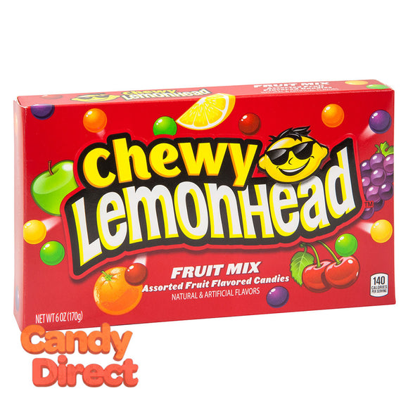 Lemonhead Chewy Fruit Mix 5oz Theater Box - 12ct