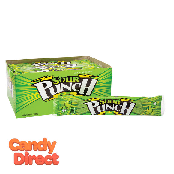 Sour Punch Straws - Apple 24ct