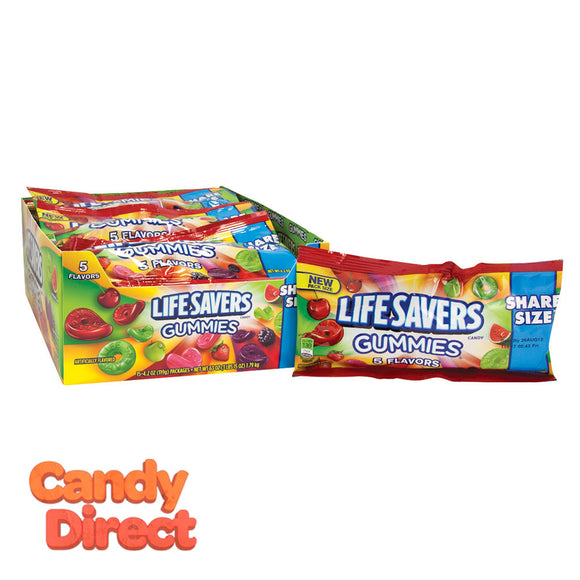 Lifesavers Gummies 5 Flavor 4.2oz Share Size - 15ct