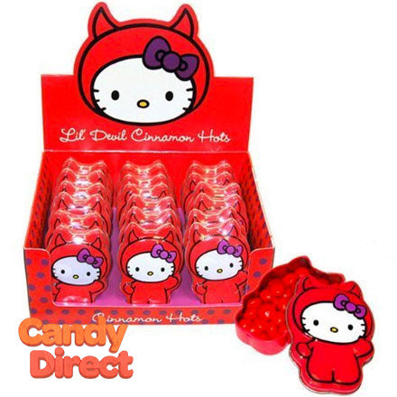 Little Devil Cinnamon Hots Hello Kitty - 18ct