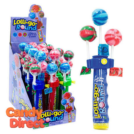 Lolly-Go-Round Lollipop Spinner - 12ct