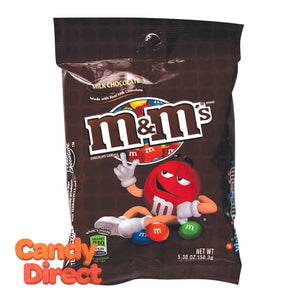 M&M's Peg Bags - 12ct Milk Chocolate