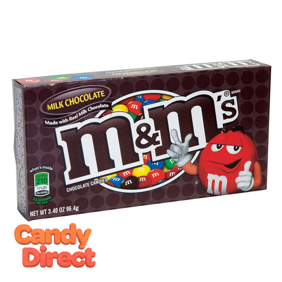 M&M's Theater Boxes - 12ct Milk Chocolate