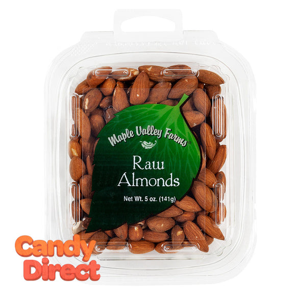 Maple Valley Farms Almonds Raw 5oz - 6ct