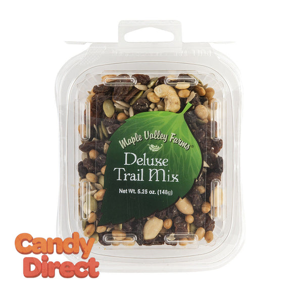 Maple Valley Farms Trail Mix Deluxe 5.25oz Peg Tub - 6ct
