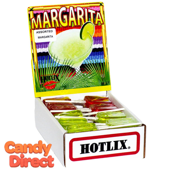 Margarita Flavored Suckers - 36ct